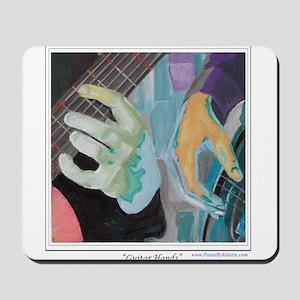 Guitar Hands Mousepad