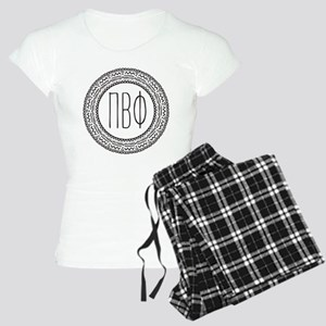 Pi Beta Phi Medallion Women's Light Pajamas