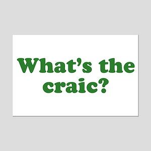 What's The Craic Mini Poster Print