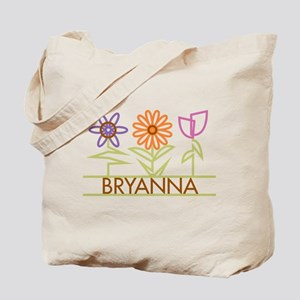 Bryanna with cute flowers Tote Bag