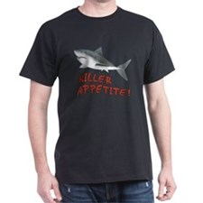 Shark - Killer Appetite Dark T-Shirt