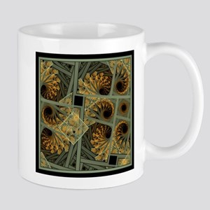 Escher Grey-Fern Mug