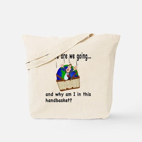 Cute Where Tote Bag