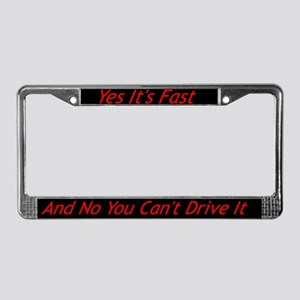 ReBk License Plate Frame