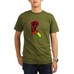 Cabo Verde Historic Flag Hand Organic T-Shirt