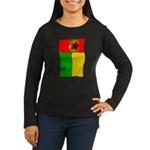 Cabo Verde History Flag Long Sleeve T-Shirt