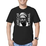 Amilcar Cabral Men's Fitted T-Shirt (dark)