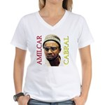 Amilcar Cabral Women's V-Neck T-Shirt