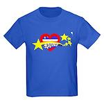 Cabo Verde Strelas Kids Dark T-Shirt