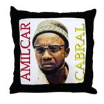 Amilcar Cabral Throw Pillow