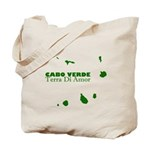 Cabo Verde Islands Tote Bag