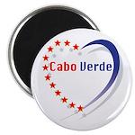 """Cabo Verde Stars Heart 2.25"""" (100 Pk) Magnets"""
