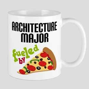 Architecture Major Fueled by Pizza Mug