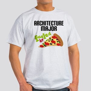 Architecture Major Fueled by Pizza Light T-Shirt