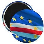 """Cape Verde Flag 2.25"""" Magnets"""