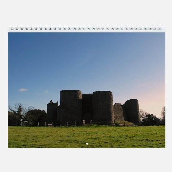 Medieval Castles Wall Calendar