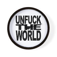 Unfuck The World Wall Clock