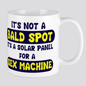 bald spot solar panel sex mac Mug
