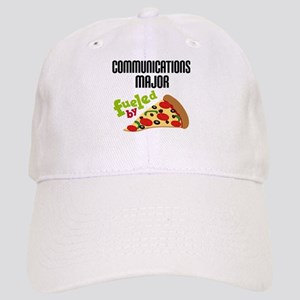 Communications Major Fueled by Pizza Cap