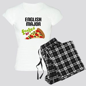 English Major Fueled by Pizza Women's Light Pajama