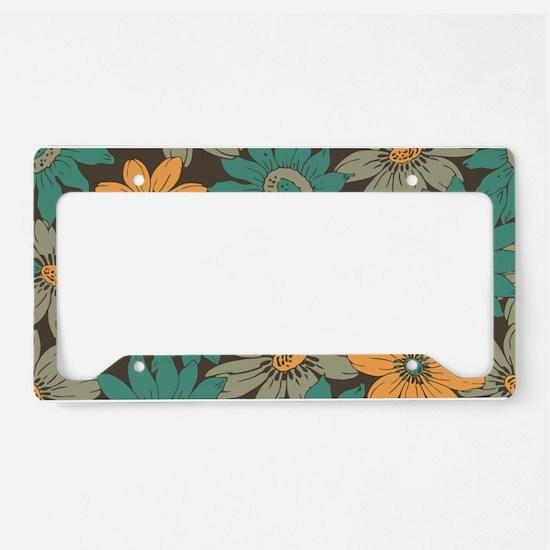 Sunflower License Plate Holder