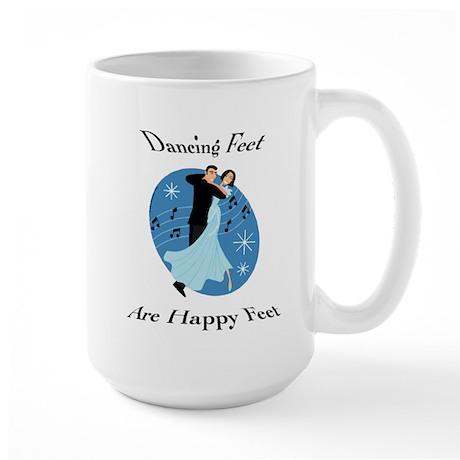 Dancing Feet Large Mug