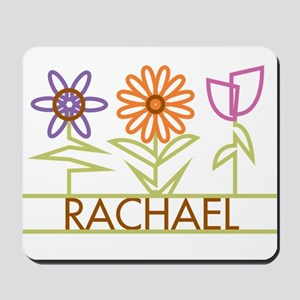Rachael with cute flowers Mousepad