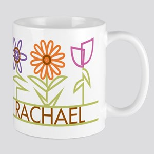 Rachael with cute flowers Mug