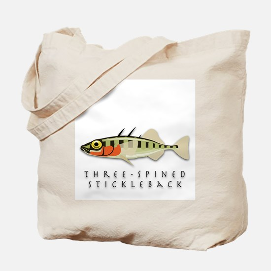 Three-spined stickleback Tote Bag