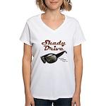 Shady Drive Women's V-Neck T-Shirt