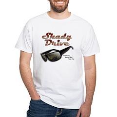 Shady Drive White T-Shirt
