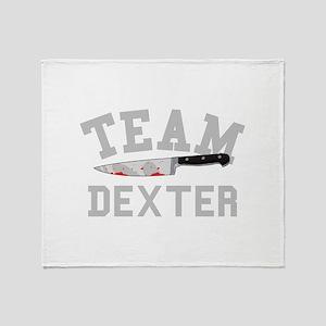 TEAM DEXTER Throw Blanket