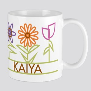 Kaiya with cute flowers Mug