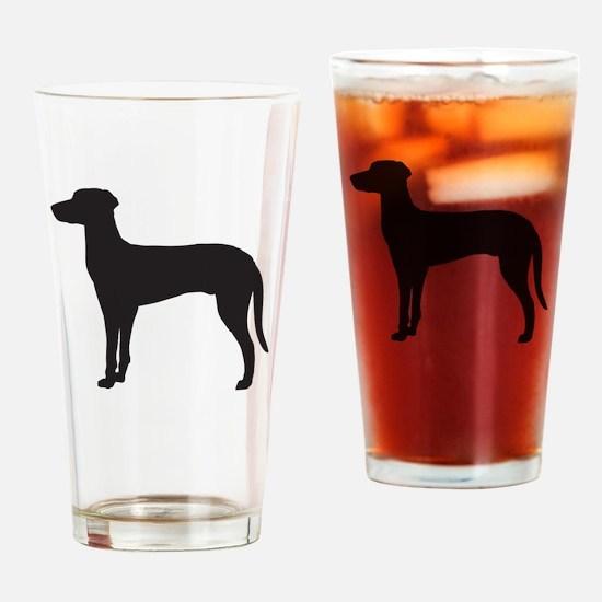 Ridgeback Drinking Glass