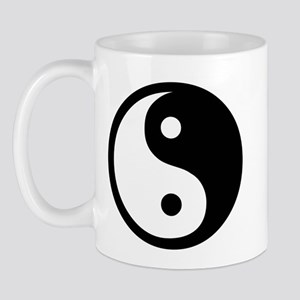 Ying Yang Black & White Mug