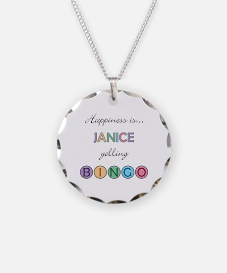 Janice BINGO Necklace