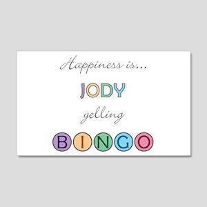Jody BINGO 22x14 Wall Peel