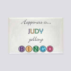 Judy BINGO Rectangle Magnet