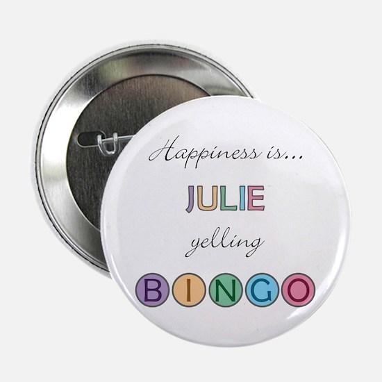 Julie BINGO Button