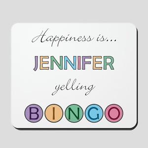 Jennifer BINGO Mousepad