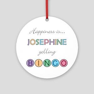 Josephine BINGO Round Ornament