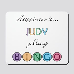 Judy BINGO Mousepad