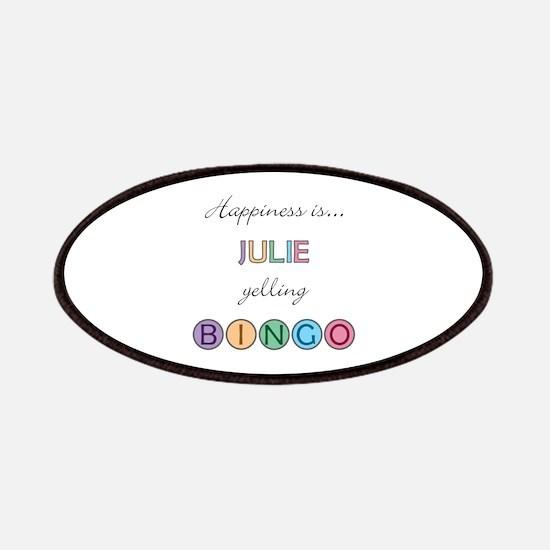 Julie BINGO Patch