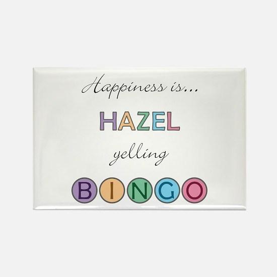Hazel BINGO Rectangle Magnet