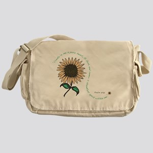 Creat in me a pure heart Messenger Bag