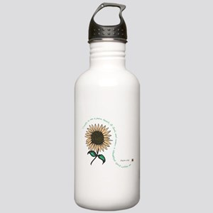Creat in me a pure heart Stainless Water Bottle 1.