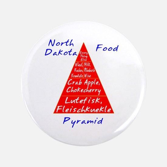 "North Dakota Food Pyramid 3.5"" Button"