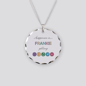 Frankie BINGO Necklace Circle Charm
