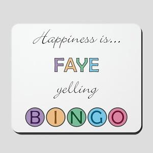 Faye BINGO Mousepad