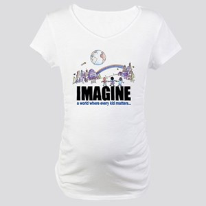 """Imagine"" Maternity T-Shirt"